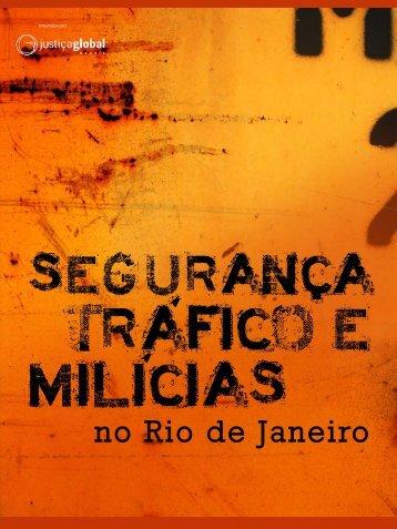 Segurança, Tráfico e Milícias no Rio de Janeiro - Fundação Heinrich ...