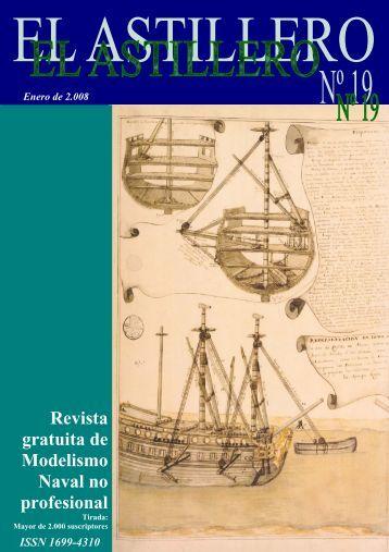 EL ASTILLERO nº19 - modelismo naval en madera