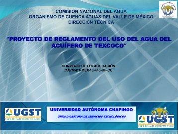 GEO 72 Reglamento Acuífero Texcoco - Consejo de Cuenca del ...