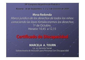 Certificado de Discapacidad - Sap2.org.ar
