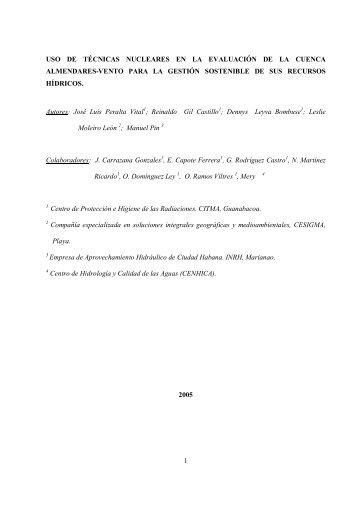 Investigación - Forum de Ciencia y Técnica