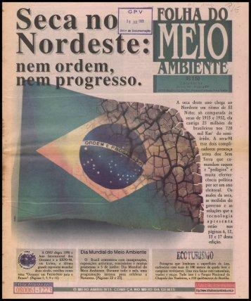 FOLHA DO MEIO AMBIENTE - Centro de Documentação e ...
