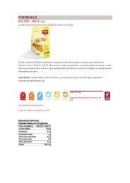 Confira a lista dos produtos Schar detalhada. - saopatricioemporio ...