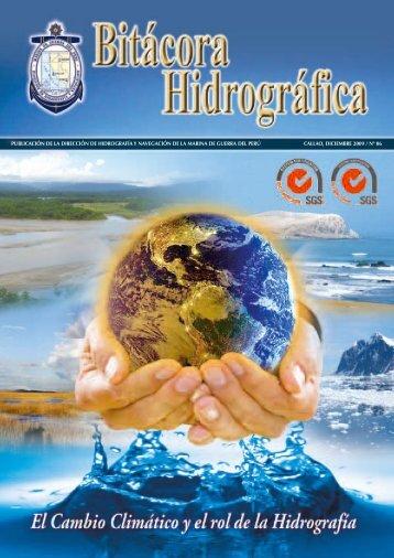 bitacora hidrografica n°06 diciembre 2009 - Dirección de ...