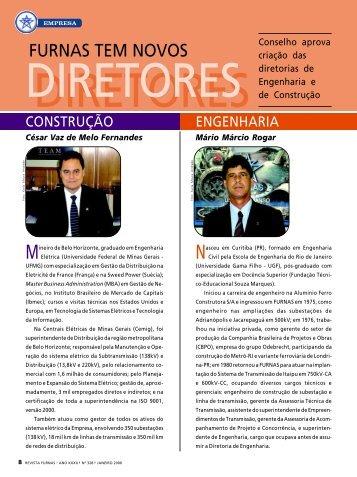 FURNAS tem novos diretores