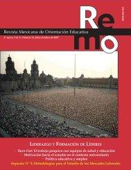 REMO Nº 12 - Revista Mexicana de Orientación Educativa