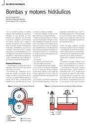 Bombas y motores hidráulicos - Instituto Plan Agropecuario