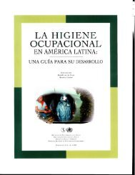 HIGIENE OCUPACIONAL - World Health Organization