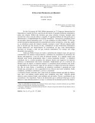 O Segundo Problema de Hilbert - RBHM - REVISTA BRASILEIRA ...