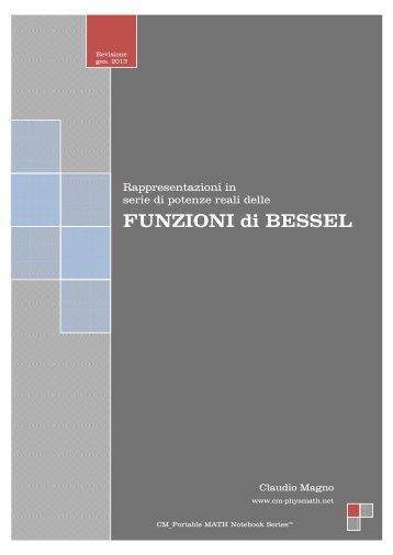 FUNZIONI di BESSEL - Cm-physmath.net