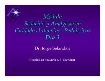 Módulo Sedación y Analgesia en Cuidados Intensivos Pediátricos ...