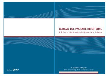 MANUAL DEL PACIENTE HIPERTENSO - EnfermeriaAPS