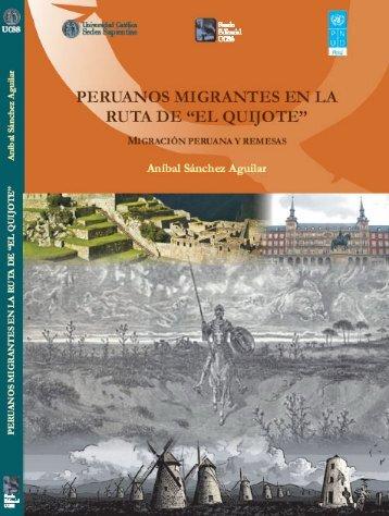 """Peruanos migrantes en la ruta de """"El Quijote"""". - Ministerio del ..."""