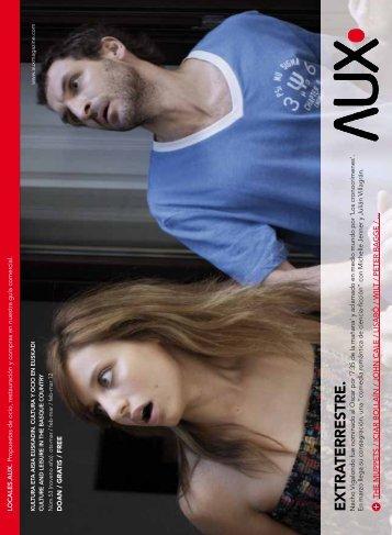 EXTRA TERRESTRE. - AUX Magazine