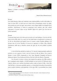 Higiene e a Cidade: a circulação de teorias higienistas, em São ...