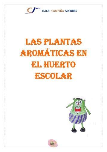 LAS PLANTAS AROMÁTICAS EN EL HUERTO ESCOLAR