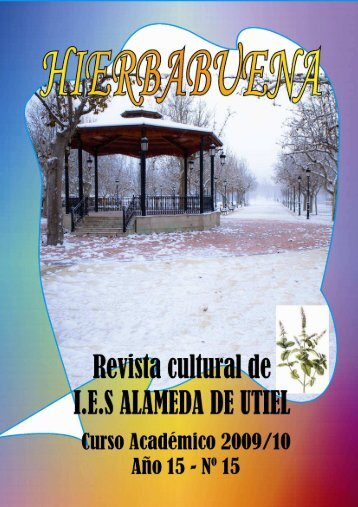Revista Hierbabuena del curso 2009-10 - IES Alameda Utiel