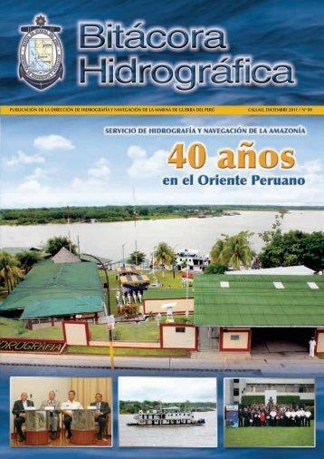 bitacora hidrografica n°09 diciembre 2011 - Dirección de ...