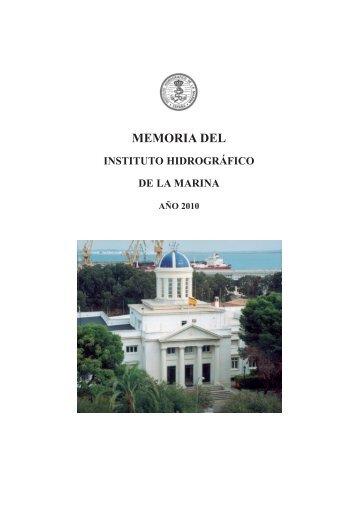 Memoria 2010 - Armada Española - Ministerio de Defensa