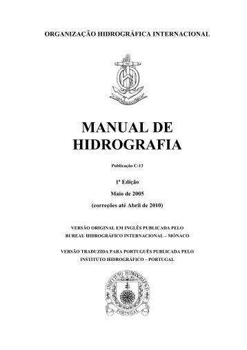 introducao indice e capitulo 1 - Instituto Hidrográfico