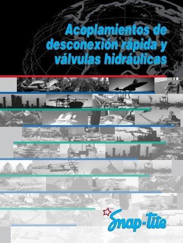 Acoplamientos de desconexión rápida y válvulas hidráulicas ...