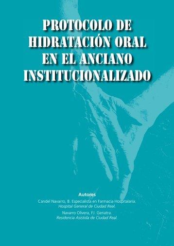 Protocolo de hidratación oral en el anciano ... - Nutrición Médica