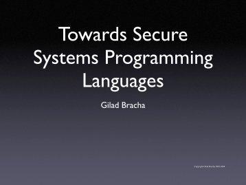 An unreliable programming language generating unreliable programs