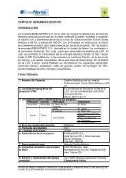 estudio de impacto ambiental expost del bloque 16 - Conelec