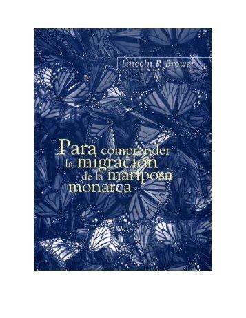 Para comprender la migración de la mariposa Monarca - Instituto ...