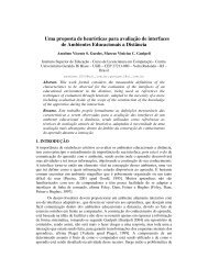Uma proposta de heurísticas para avaliação de interfaces de ...