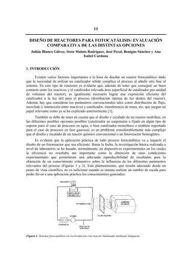 FOTOCATÁLISIS HETEROGÉNEA Y OTRAS TECNOLOGÍAS ...