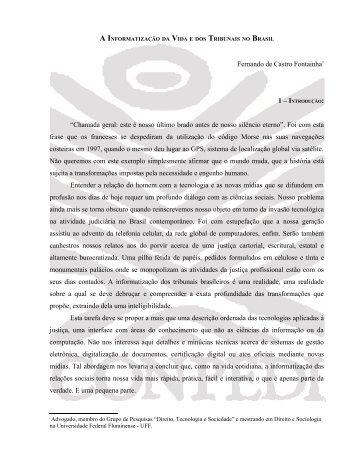 Fernando de Castro Fantainha - CONPEDI