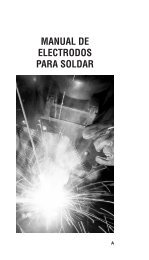 MANUAL DE ELECTRODOS PARA SOLDAR - Grupo Infra