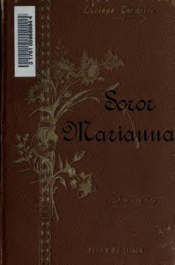 Soror Marianna, a freira portugueza. 2. ed. illustrado, correcta e ...