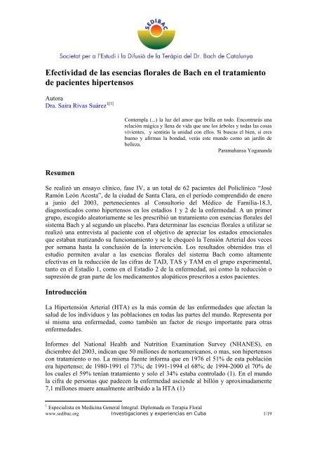 Investigaciones de hipertensión secundaria matemáticas
