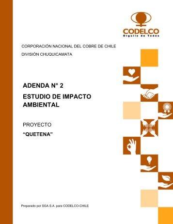 adenda 2 versión digital - SEA - Servicio de evaluación ambiental