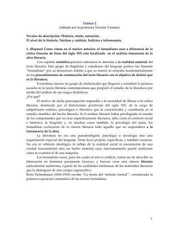 1 (editado por la profesora Teresita Vernino) - Taller de Expresión I ...