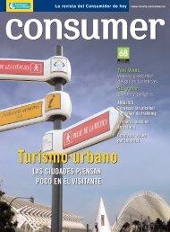 Turismo urbano - Revista Consumer