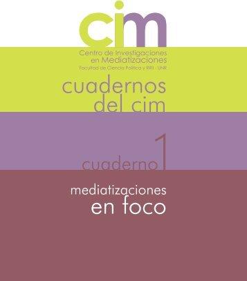 Descargar - CIM - Centro de Investigaciones en mediatizaciones ...