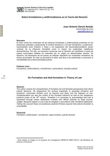 Artículo GAPP - Eunomía. Revista en Cultura de la Legalidad