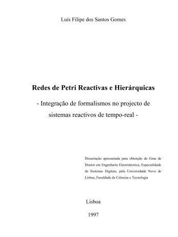 Redes de Petri Reactivas e Hierárquicas - RUN UNL - Universidade ...