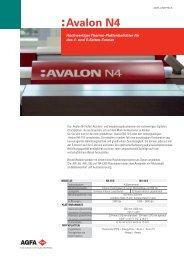 :Avalon N4; Deutsch; Leaflet
