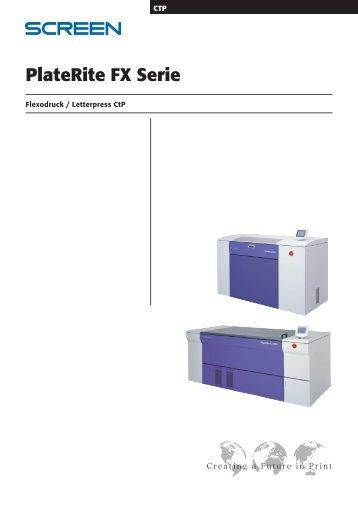 PlateRite FX Serie - REINSCH