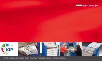 KIP Color 80 Anwendung - REINSCH