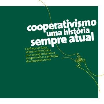 Cartilha Cooperativismo uma história sempre atual - Biblioteca FESP