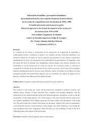 Abstracción formalista y percepción instantánea ... - CES Felipe II