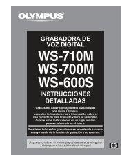 ws-700m - Olympus America