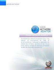 Nombre de producto Dexon Network Monitor - Dexon Software