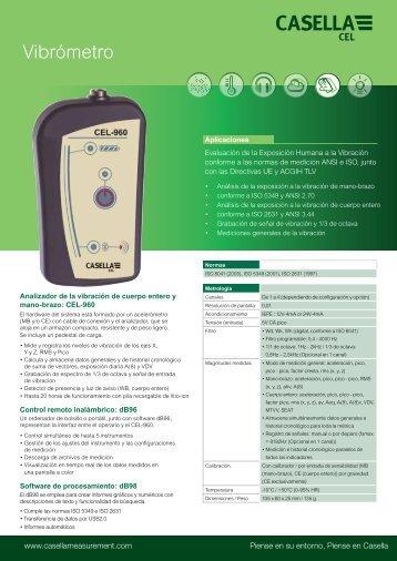 Vibrómetro - Casella Measurement