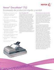 Xerox® DocuMate® 752 - Scanners